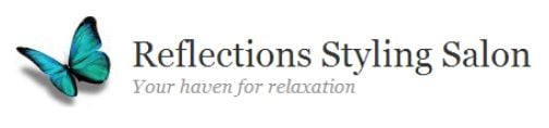 Reflections Styling Salon logo